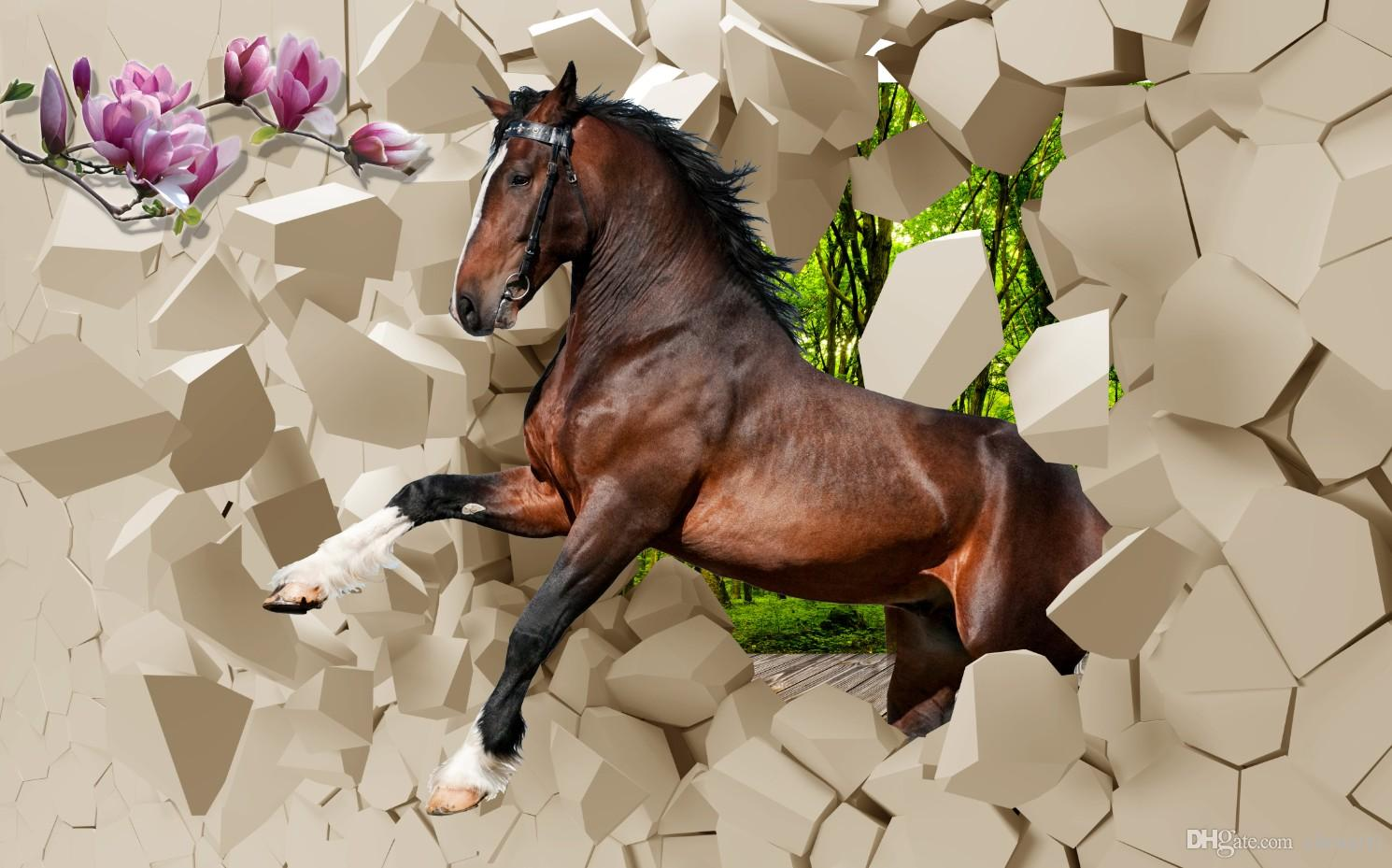 horse wallpaper for bedroom the