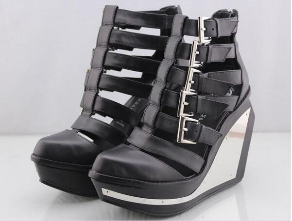 Fashionable Jeffrey Campbell The Clinic Booties Shoes in Black ...