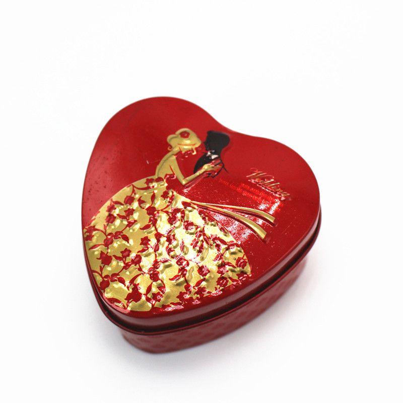 Heart Shaped Bride Groom Candy Box Favor Box Gift Wedding