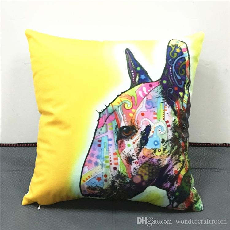 55 Styles Bull Terrier Dogs Cushion Covers Rafael Mantesso  : 55 styles bull terrier dogs cushion covers from www.dhgate.com size 750 x 750 jpeg 62kB