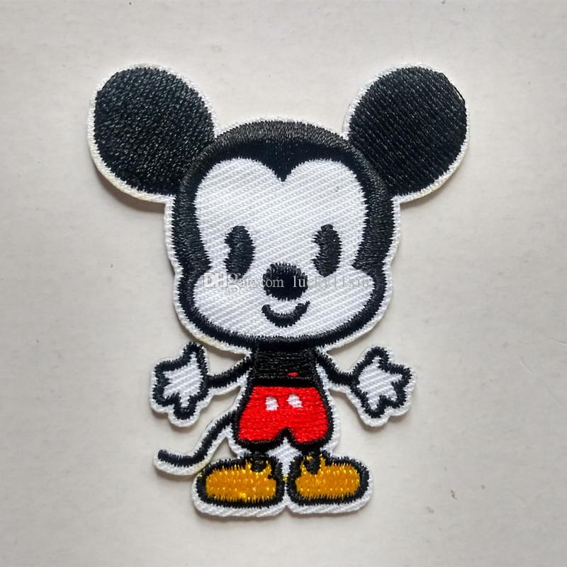 2017 Mickey Mouse Cute Iron On Embroidered Cartoon Patch