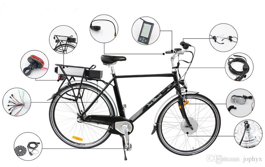 easy diy electric bike kit with battery electric bicycle
