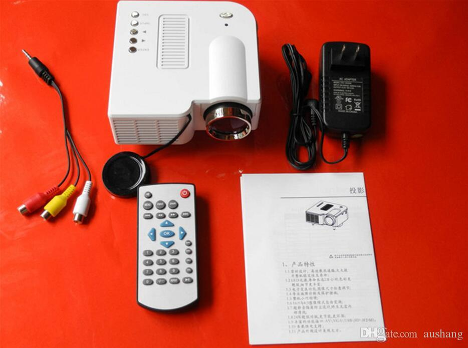 2016 new unic uc28 portable micro mini hd led projector for Best micro projector 2016