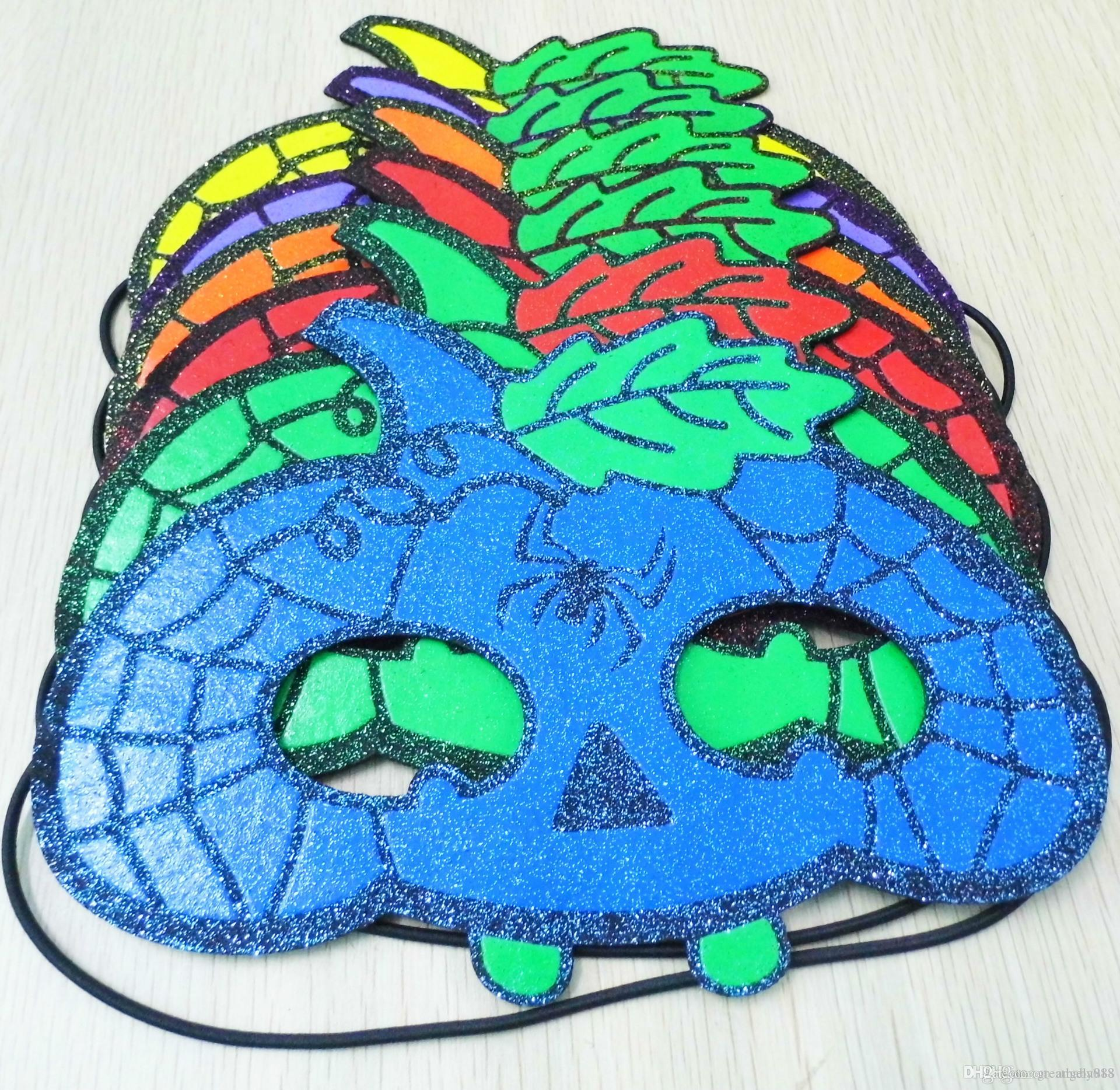 DHL Halloween Mask Children Pumpkin Spiderman Butterfly Masquerade ...