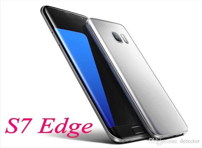 2016 Hot S7 Edge Version Goophone edge Metal Frame 1GB RAM 4GB Rom Quad Core WCDMA 3G Network Smartphone