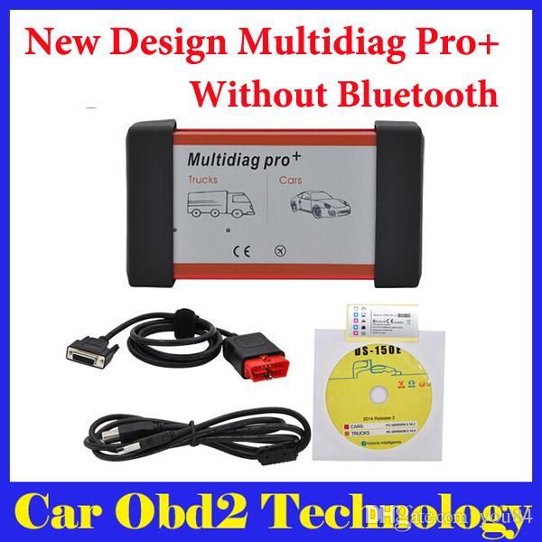 New design multidiag pro for cars trucks and for 2 aggiunta di box auto