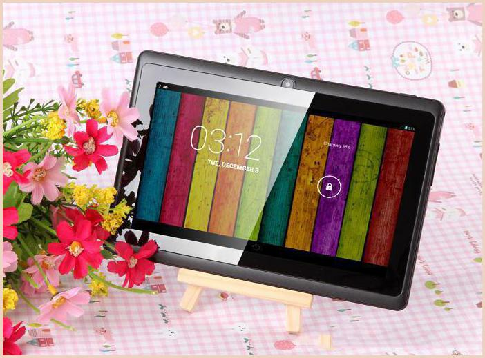 7 pouces A33 Quad Core Tablet PC Allwinner Android 4.4 KitKat capacitif 1.5GHz 5