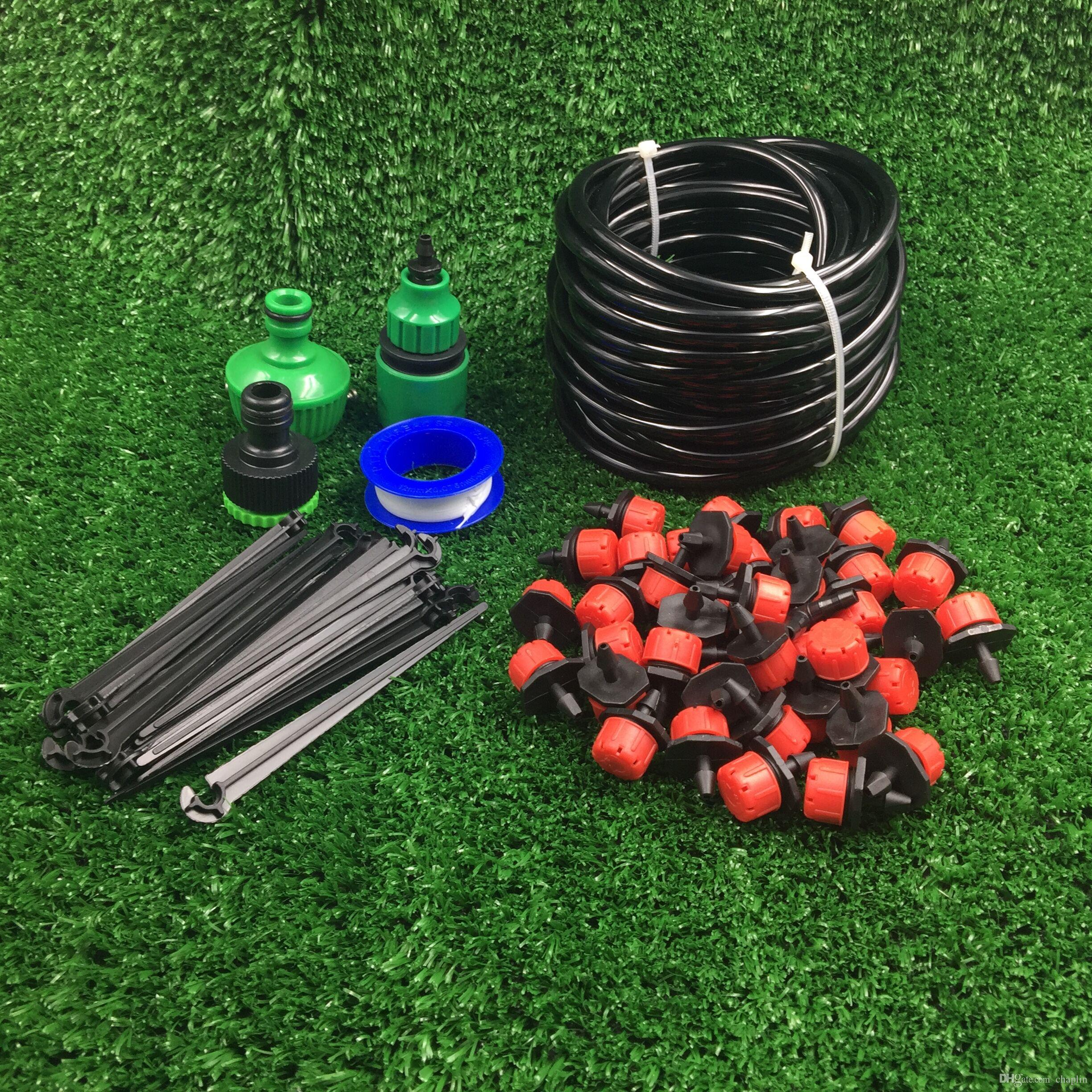 Pvc 4 7 hose hot sale diy automatic micro drip irrigation system gardening drip irrigation - Diy drip irrigation systems ...