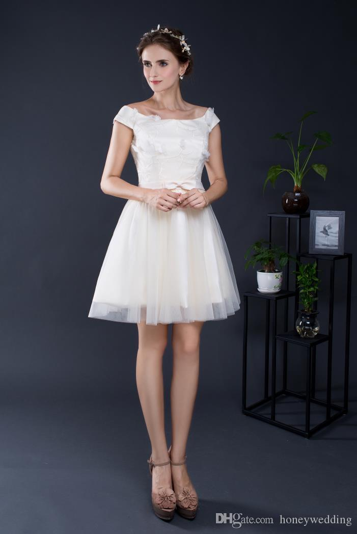 Fashion Short Cocktail Party Dresses 2017 Off Shoulder Lace Ruched ...
