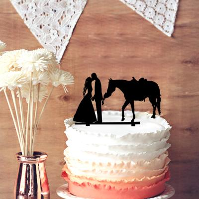 Rustic Wedding Cake Decoration And Party Decor Rustic Groom And