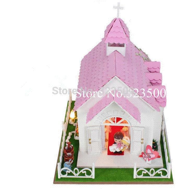 Toys For Church : Diy doll house church wedding in roma wooden toys for