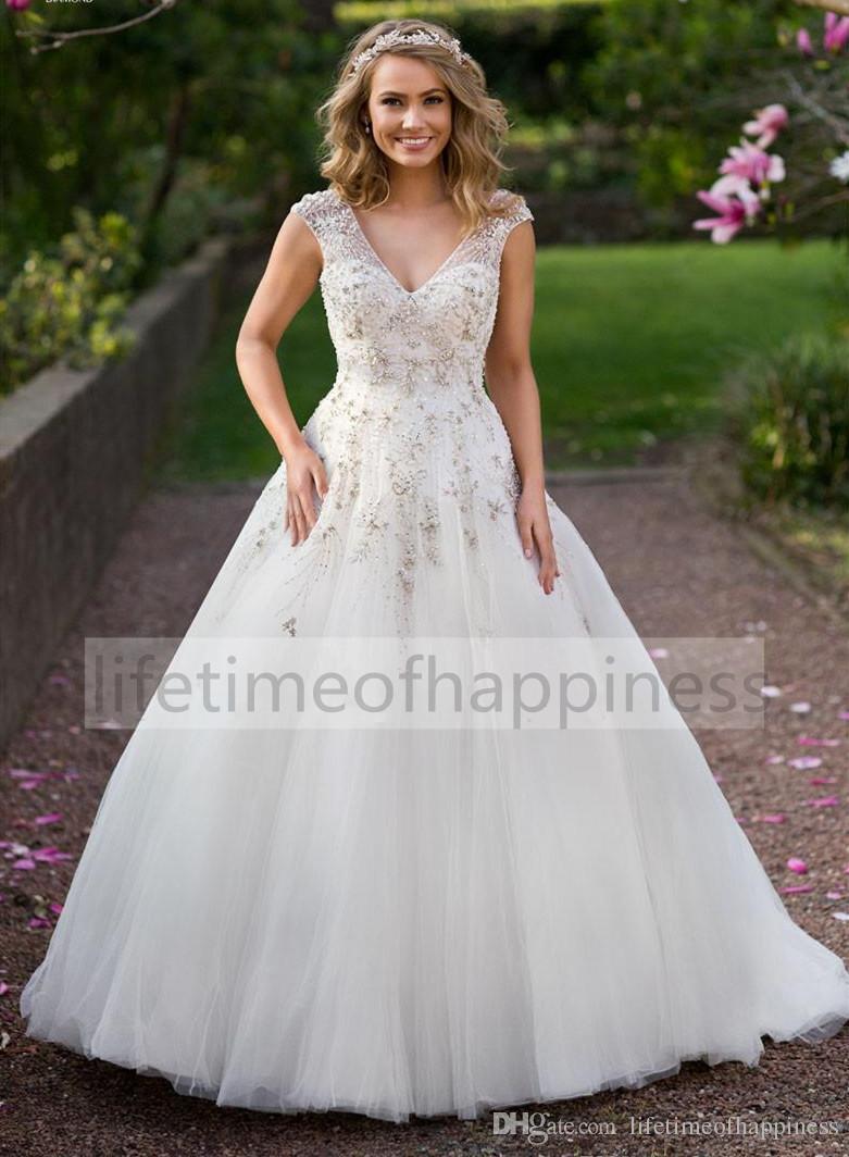 Discount 2017 boho garden summer french style wedding for French style wedding dresses