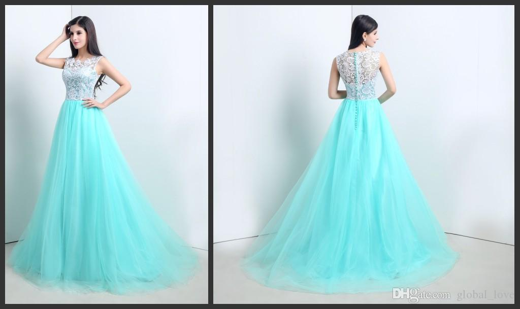 2017 Modest Cheap Prom Dress In Stock Free Fast Shipping Upper ...