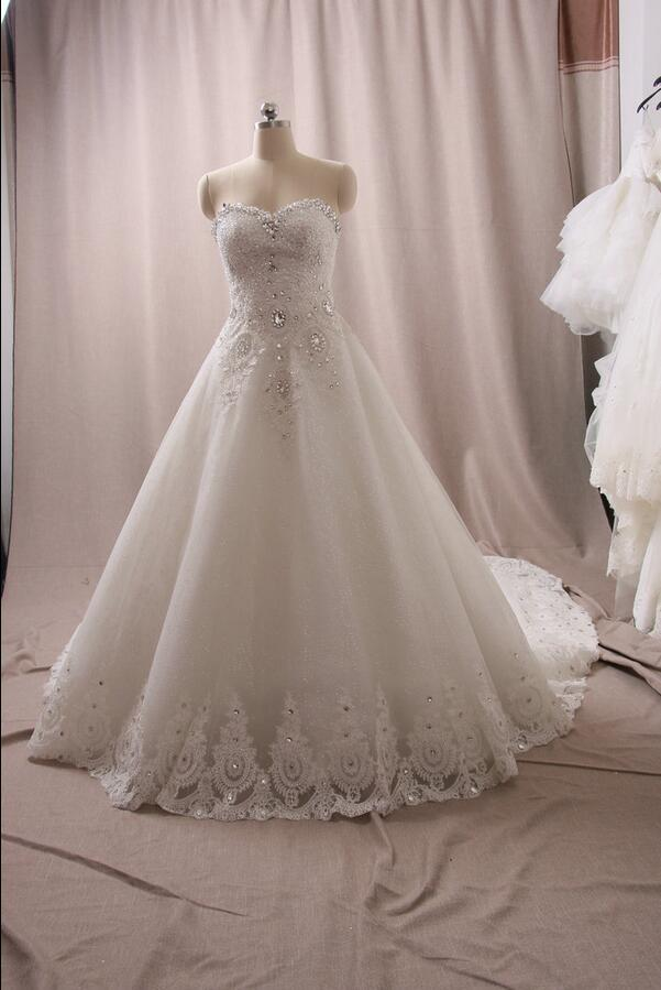 Gorgeous ball gown wedding dresses 2016 sexy sweetheart for Dhgate wedding dresses 2016