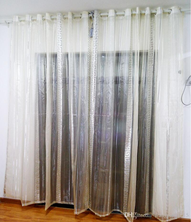 2017 Hot Sale Tulle Curtains For Kitchen Embroidered Voile