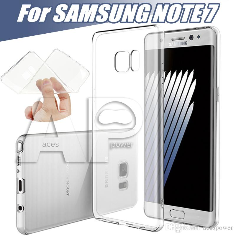 Iphone 7 Case Soft Clear Cover 0.3mm Super Thin TPU Silicon Gel Phone Cases Samsung Galaxy ON5 Note7 OPP Bag