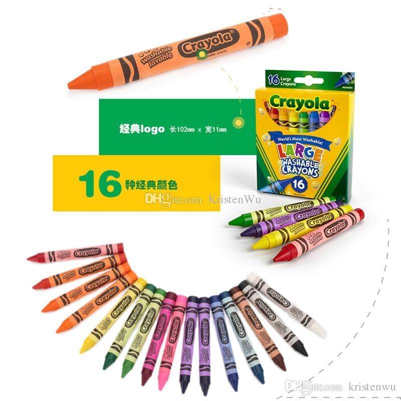 2017 2016 New Crayola Virtual Design Pro Fashion Christmas Gifts For Children Crayons Large