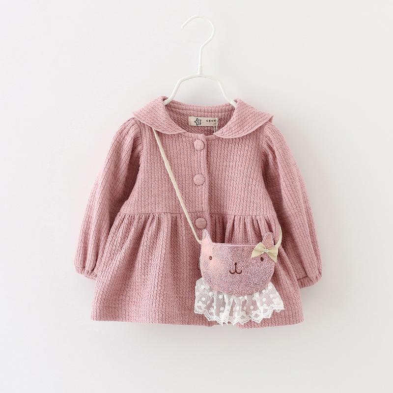 Little Girls Rabbit Back Collar Coats 2017 Fall Kids Clothing for ...