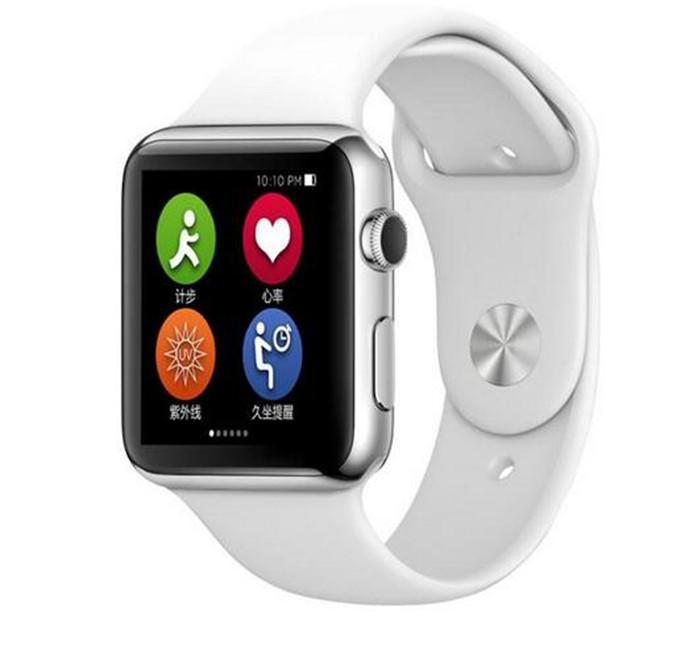Best Golden Wearable Goophone Smart Watch Mtk2502c 1.54 ...