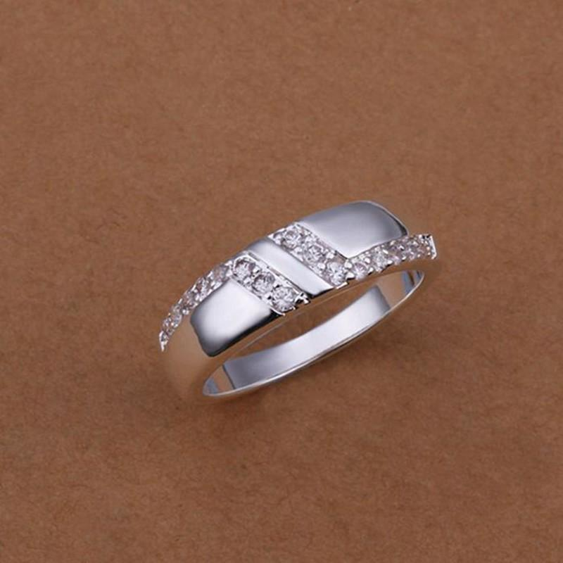 wholesale 925 sterling silver rings fashion charm wide