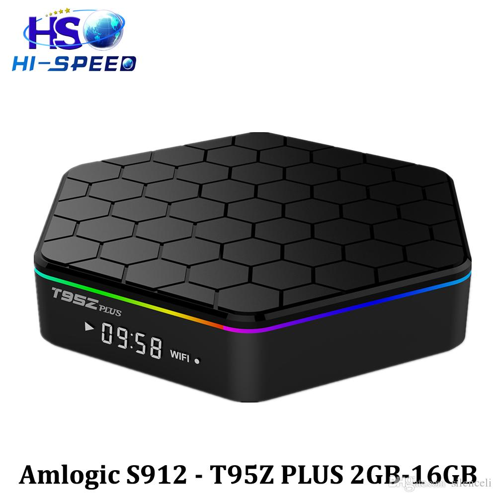 T95Z PLUS Android TV BOX S912 Octa-core cortex-A53 2G / 16G Android 6.0 2.4G 5G