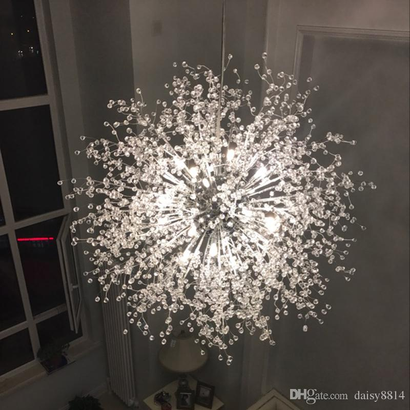 New fancy design modern chandeliers led light for home for Diy led chandelier