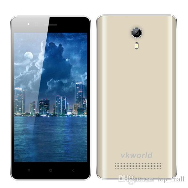 vkworld F1 4.5inch Quad Core MTK6580 1.3GHz RAM1G ROM8G / 2MP + 5MP appareil pho