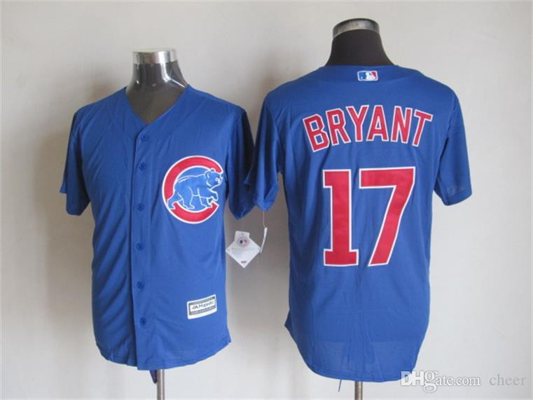 Men's Cool Base # 12 Kyle Schwarber # 17 Kris Bryant # 44 Anthony Rizzo # 49 Jak
