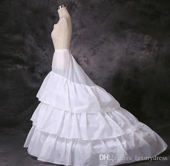 Hot Sale Cheap 3 Hoops Petticoat For Bridal Dresses