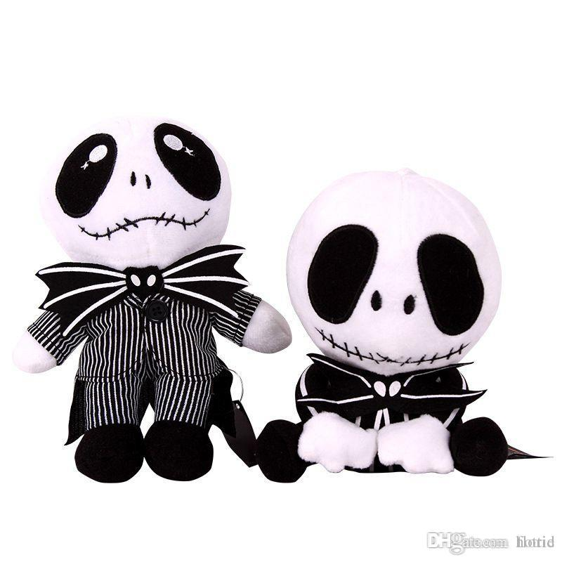 New 2 Styles The Nightmare Before Christmas JACK Plush Toy 9 8 ...