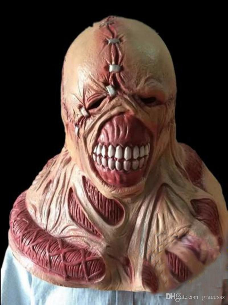 Scary Latex Mask Fortress of Fear Game RESIDENT EVIL Manic Ghoul ...