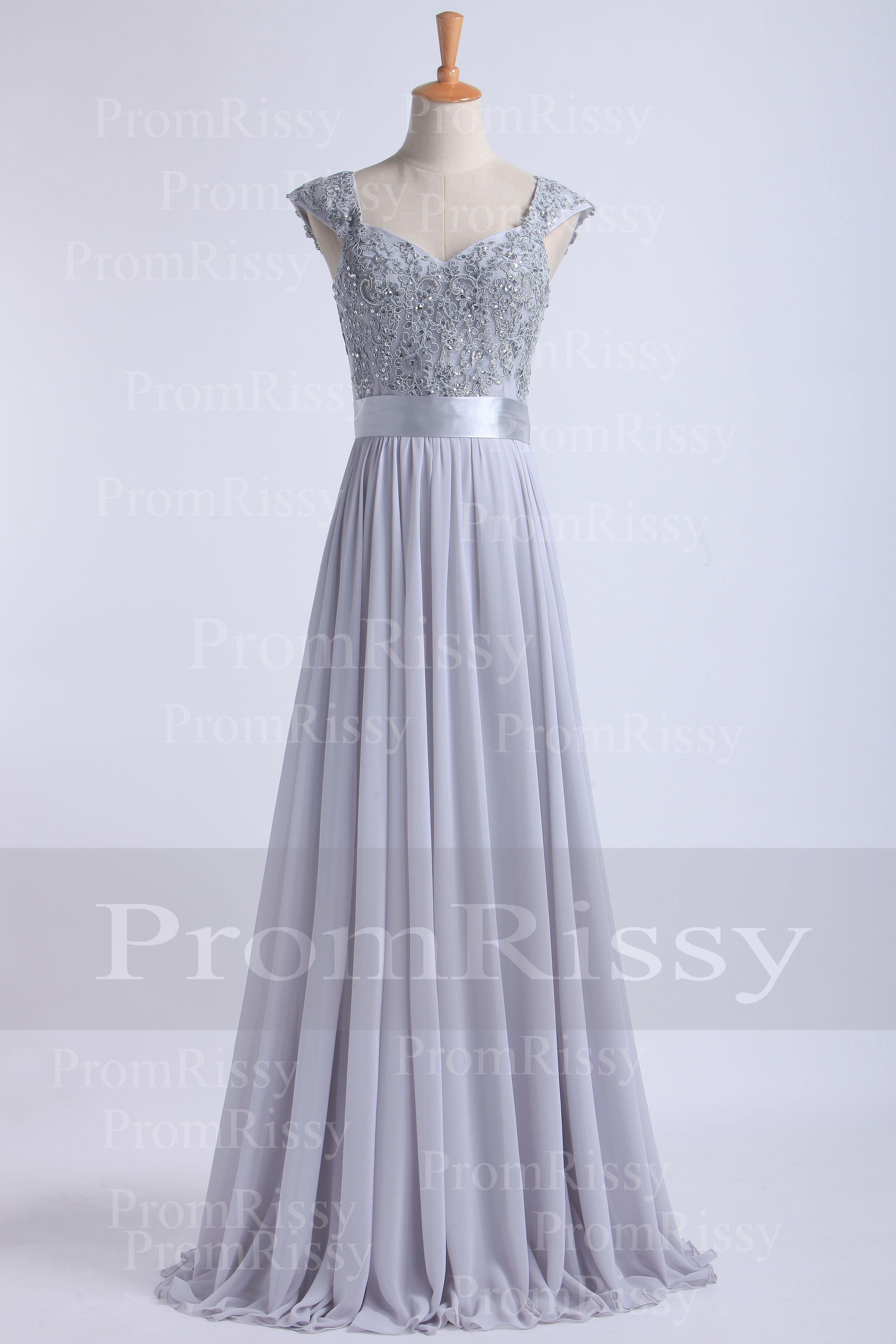Cheap Floor Length Beaded Sequin Lace Top Sweetheart Cap Sleeve ...