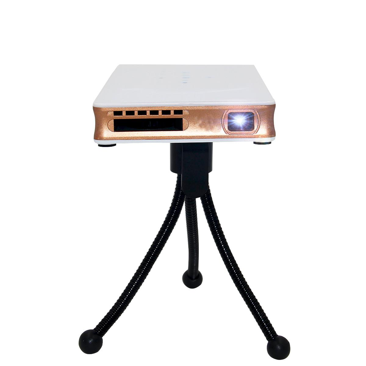 Mini dlp projector android 4 4 wifi support airplay for Dlp micro projector