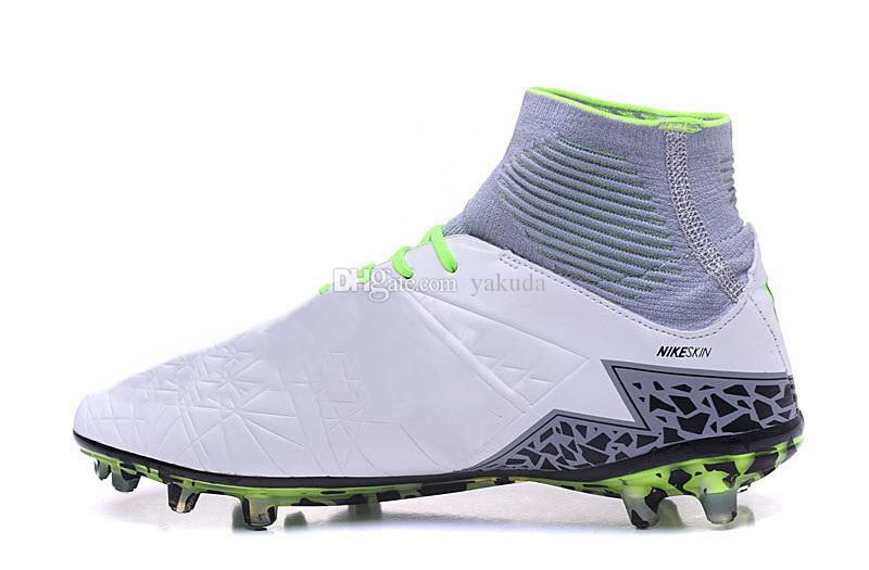 2016 new Hypervenom Phantom II Soccer Shoe,Football Cleats ,Soccer Boots,2 generation method of mixture of the top leather football shoes