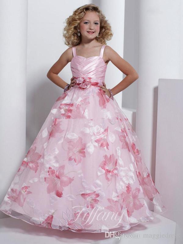Light Pink Flower Girl Dresses Uk - Discount Wedding Dresses