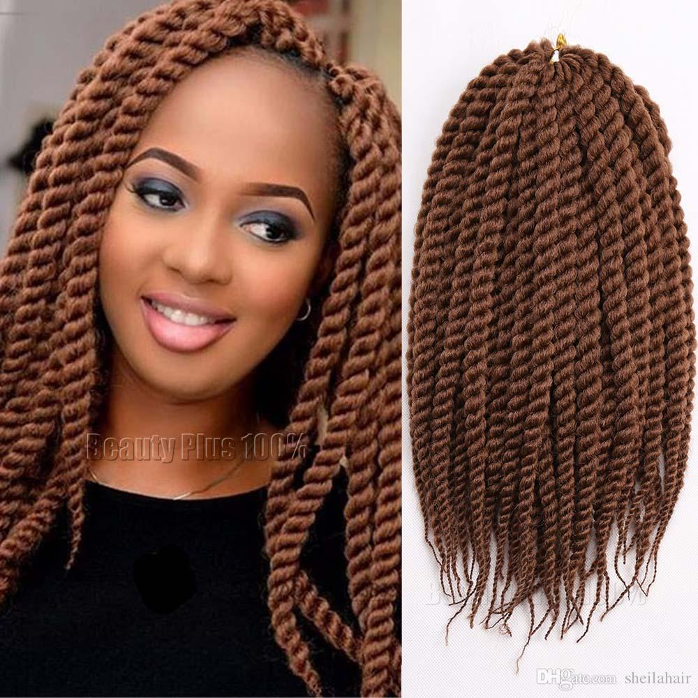 Havana Mambo Twist Crochet Braid Hair 24 135g Pack 2x