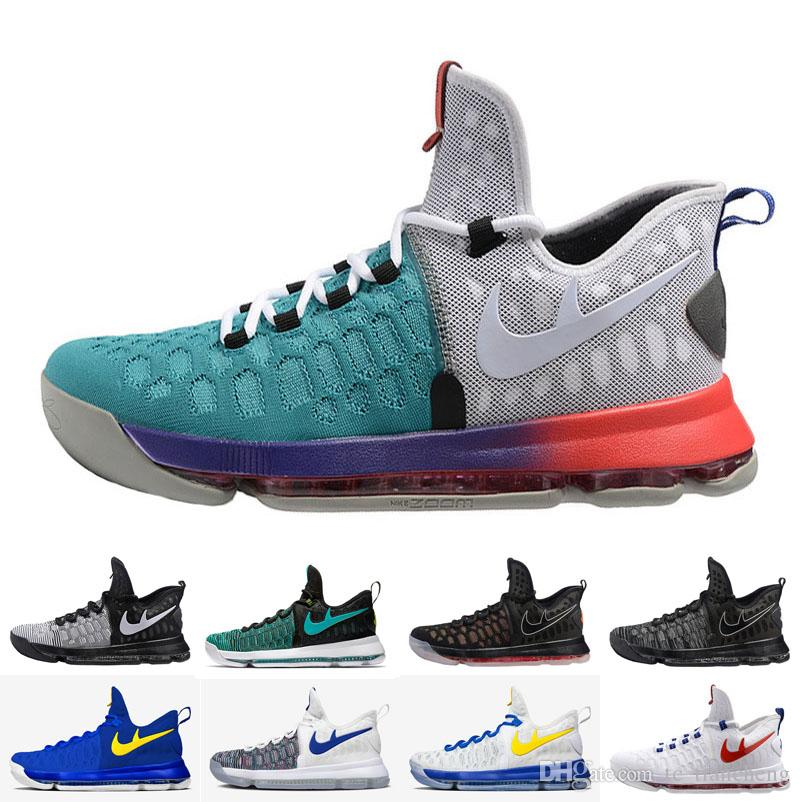 wholesale air mesh barefoot kd 9 sneakers homme kevin