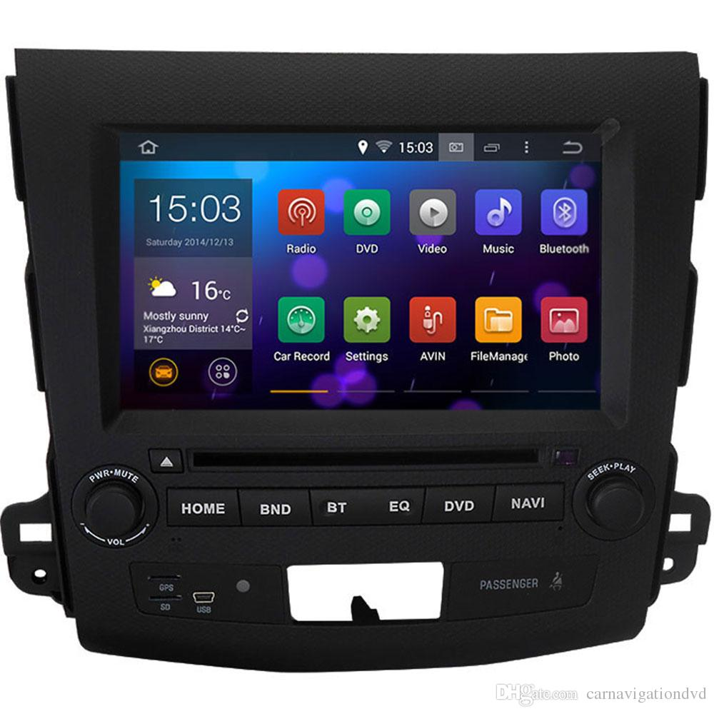 Witson Android 4.4 System Car DVD GPS Headunit Citroen C-Crosser 2007 - 2012 Radio + Phone Mirror Link Function