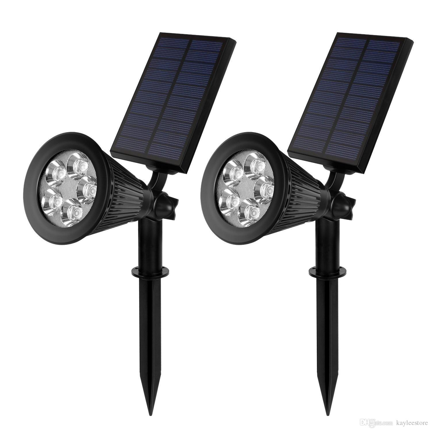 2017 Best Hotselling Solar Lights Led Waterproof Led Spotlights For Outdoor Wall Garden Lawn ...