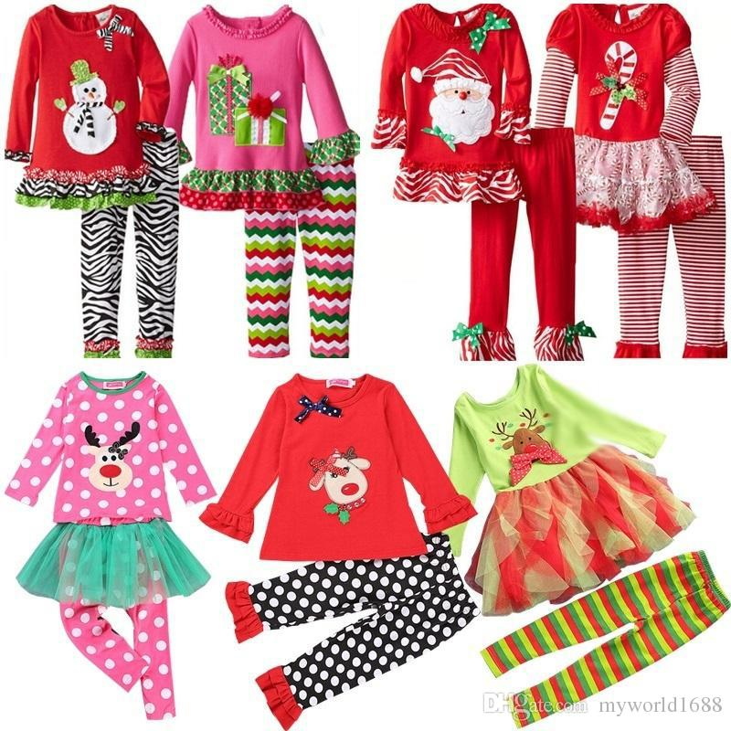 2017 Samgami Baby Childrens Girls Boutique Outfits