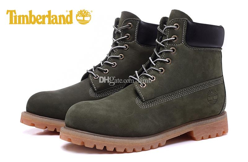 olive green timberland boots size 7