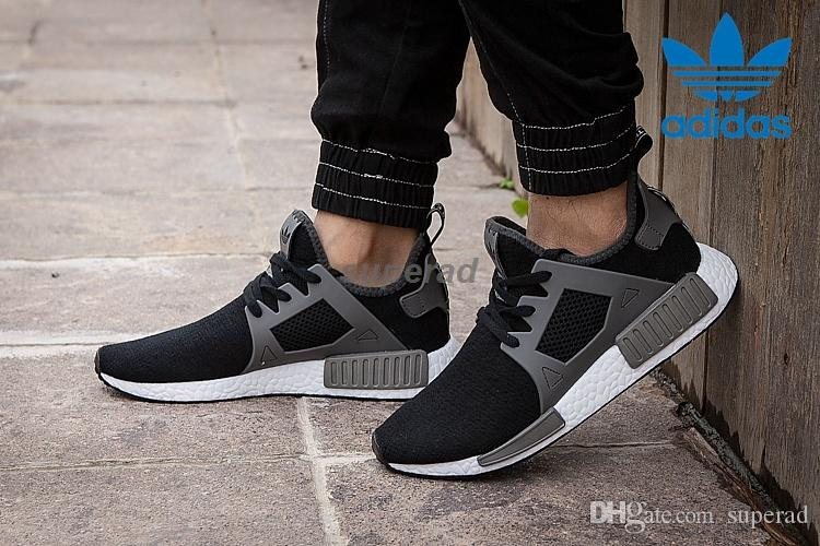 chic Adidas NMD XR1 White Black Camo (Size 10 5) For Sale