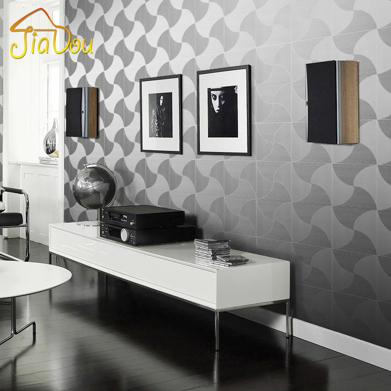 Modern luxury foil gold silver wallpaper roll papel de for Black and silver living room wallpaper