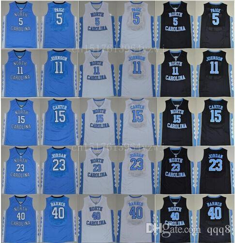 Cheap North Carolina Tar Heels 2 Joel Berry 15 Vince Carter 11 Brice Johnson 40