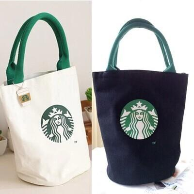 Women Famous Starbucks Cute Shopping Handbag Ladies
