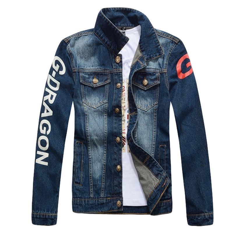 2016 Fashion Men Jean Jacket For Fall Sample Design Jeans Jacket ...