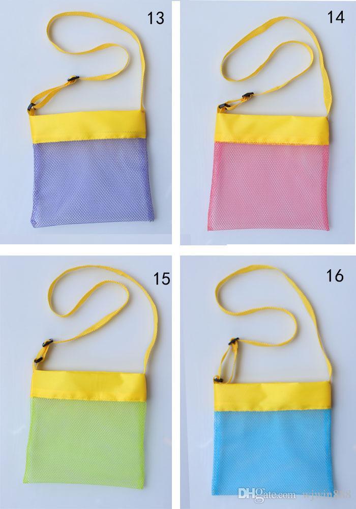 Built Your Brand Custom Logo Beach Mesh Bag Children Beach Toys ...