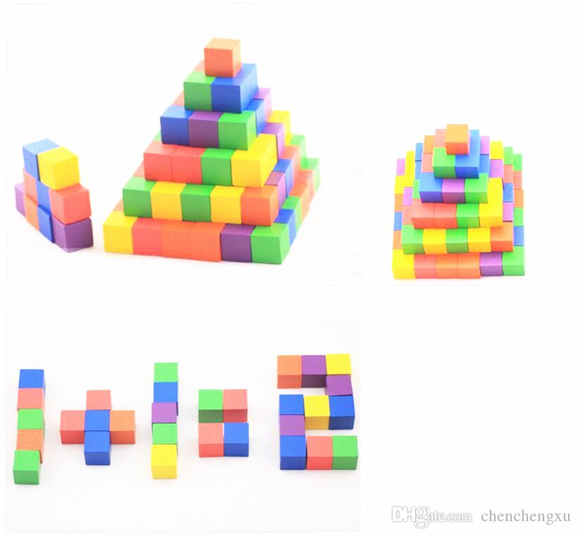 2017 ccx color wood cubic brick puzzle game piece pack of for Wooden blocks craft supplies