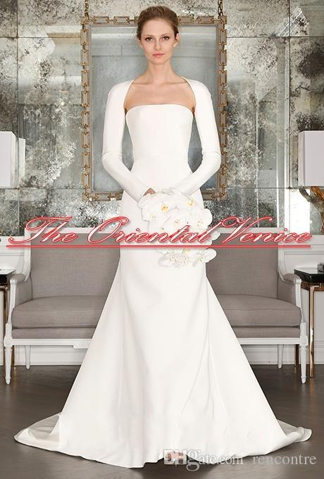 Affordable Wedding Dresses Nj Cheap Simple Dress Long Sleeves Jersey