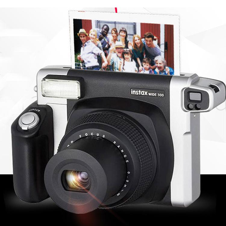 2017 2017 dhl fuji fujifilm instax 300 wide camera black color instant photo polaroid film. Black Bedroom Furniture Sets. Home Design Ideas